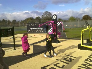 The new 2012 Adizone in Verulamium Park, St Albans